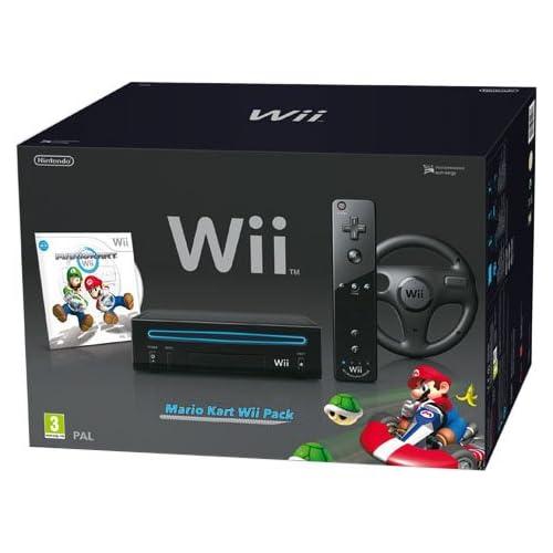 Mario Kart Wii Pack Schwarz [WII] Games