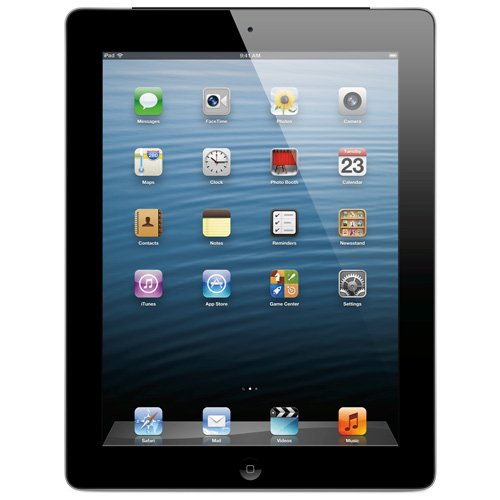 Apple iPad with Retina Display MD511LL/A (32GB, Wi-Fi, Black) NEWEST VERSION