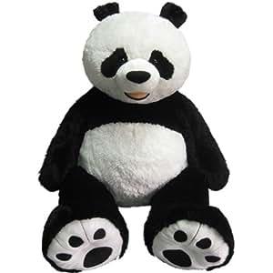 Jumbo Plush Panda Bear 36 Inch Seated Giant Panda