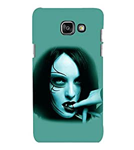 printtech Vampire Girl Blood Back Case Cover for Samsung Galaxy A3 2016 Edition