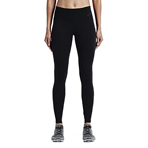 Nike Women's Legendary Dri-FIT Wool Tight Training Pants (Tight Fit), Black, Large