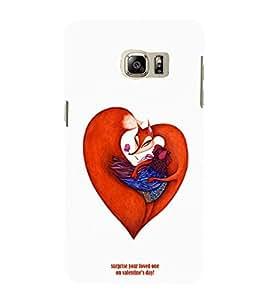 EPICCASE V-DAY Love Mobile Back Case Cover For Samsung Galaxy Note 5 Edge (Designer Case)