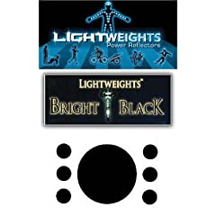 Buy Lightweights Stealth Black Dots (7-Piece) by Light Weights
