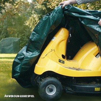 Videx-PE Gartenmöbel Schutzhülle für Aufsitzrasenmäher, grün günstig online kaufen