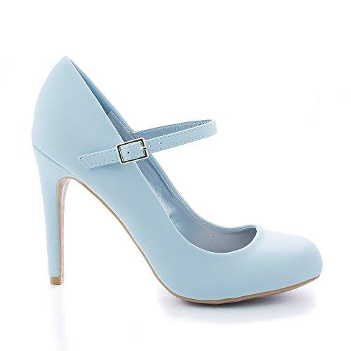 a9b299def23f0 Blue Heels: Amazon Light Blue Heels