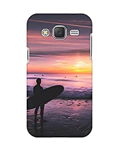 Mobifry Back case cover for Samsung Galaxy J2 Mobile (Printed design)