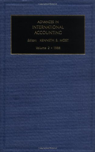 Advances in International Accounting: A Research Annual: Vol 2