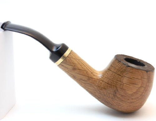 Classical unique hand made oak wood smoke pipe top quality