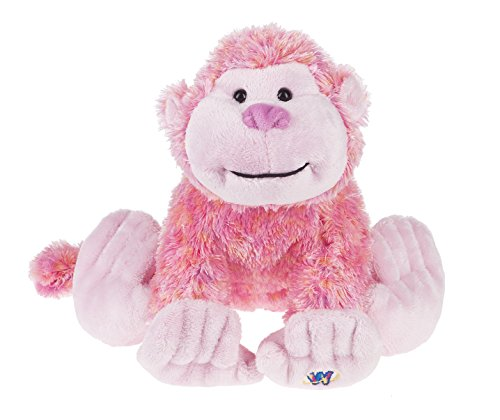 "Ganz Webkinz 8.5"" Berry Cheeky Monkey Plush"