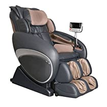 Hot Sale OS-4000 Zero Gravity Heated Reclining Massage Chair Upholstery: Cream/Taupe
