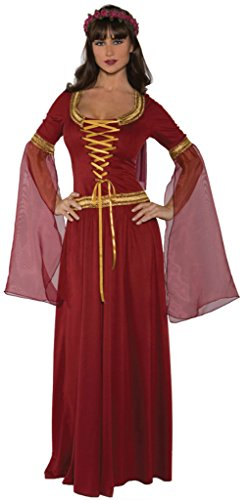 Underwraps Womens Renaissance Faire Maiden Theme Party Fancy Halloween Costume