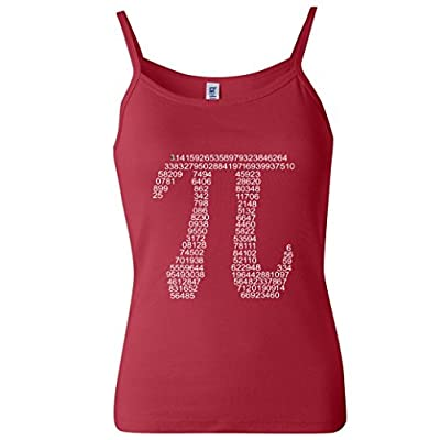 Get Pi Math Geek Women's Spaghetti Tank Top
