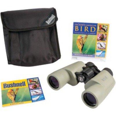 Bushnell NatureView Birder Combo 8 x 40mm Porro Prism Binoculars, Tan