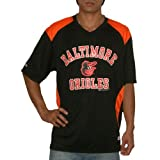 MLB Baltimore Orioles Mens Pro Quality Athletic Dri Fit Baseball Jersey