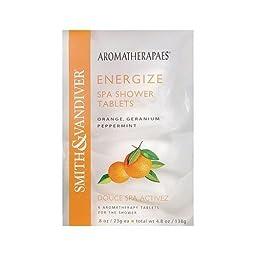 Aromatherapaes Energize Spa Shower Tablets (4x4.8Oz )