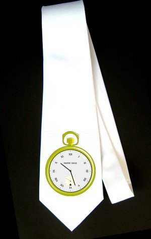 Pocket Watch Party Decoration Necktie