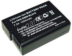 PowerFirst DMW-BLD10互換バッテリー(残量表示対応)【ネットショップ ロガリズム】DMW-BLD10