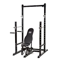 Buy Impex Marcy Platinum Power Rack (116-Pounds) by Impex
