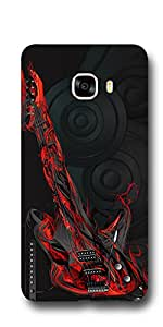 SEI HEI KI Designer Back Cover For Samsung Galaxy C7 - Multicolor