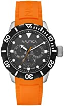 Nautica Unisex N13646G NSR 101 Multi- South Beach Classic Analog with Enamel Bezel Watch