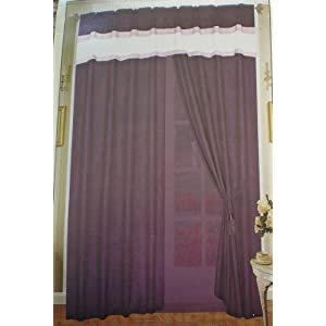 Sheer Curtain Purple: Price Finder - Calibex