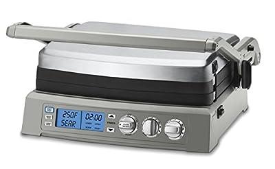 Cuisinart GR-300WS Griddler Elite Grill, Stainless Steel by Cuisinart