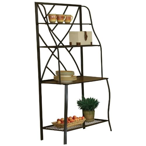 Amazon.com - Bernards Sanford Bakers Rack - Free Standing Baker Racks
