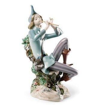リヤドロ THE PIED PIPER OF HAMELIN ハーメルンの笛吹き 並行輸入品