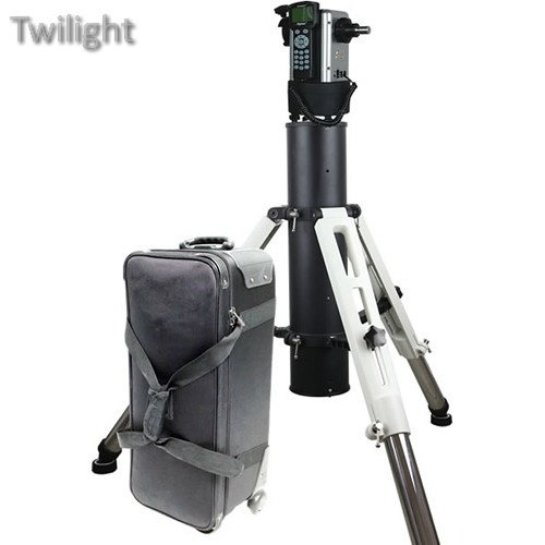 iOptron MiniTower Pro Alt-Azimuth Mount with Tri-Pier & Case (Grease Female Characters)