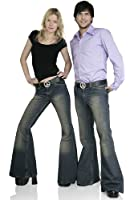 Jeans Schlaghose Star Dirty Reloaded