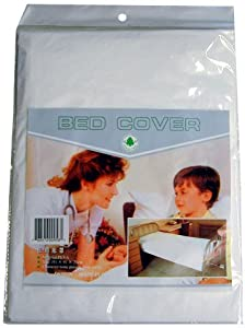 PLASTIC BED COVER SHEET