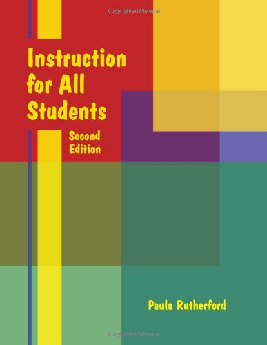 Instruction for All Students Second Edition