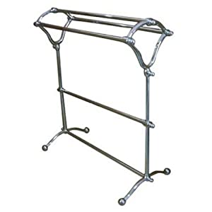 kingston brass cc2281 free standing y type towel rack polished chrome diy tools. Black Bedroom Furniture Sets. Home Design Ideas