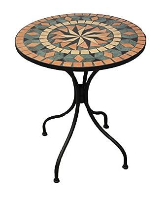 Bistro Mosaik Tisch 60cm (/)21352 B von K+M Trend Design auf Gartenmöbel von Du und Dein Garten