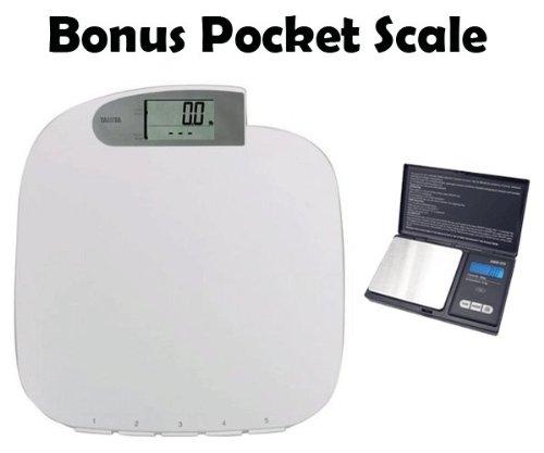 Buy Low Price Tanita Hd 314 S Digital Bathroom Scale Silver Hd314s Health Monitor Mart