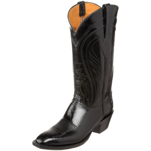 Lucchese Classics Men's L1508.14 Western Boot,Black,7 EE US