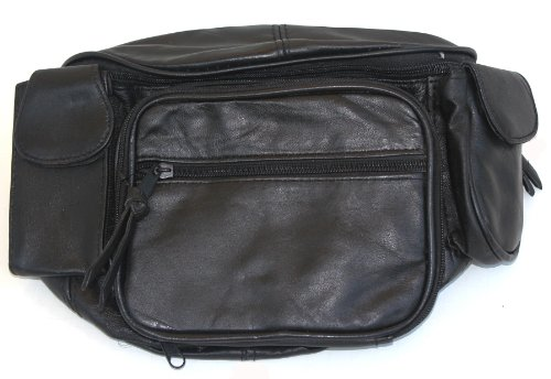 Zensufu Large Genuine Leather Fanny Pack Waist Bag with Organizer Pockets at Sears.com