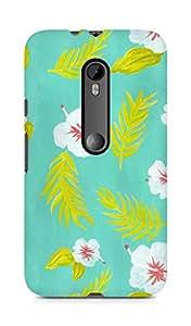 Amez designer printed 3d premium high quality back case cover for Motorola Moto G3 (Patten 1)