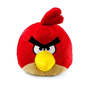 Angry Birds Plush 8-Inch Red Bird with Sound