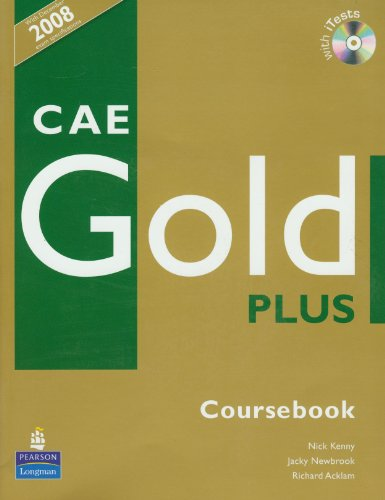 CAE. Gold Plus. Coursebook (+ CD)