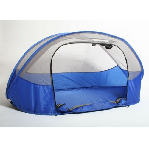 Bushbaby Nestegg Pop-up Travel Cot Blue
