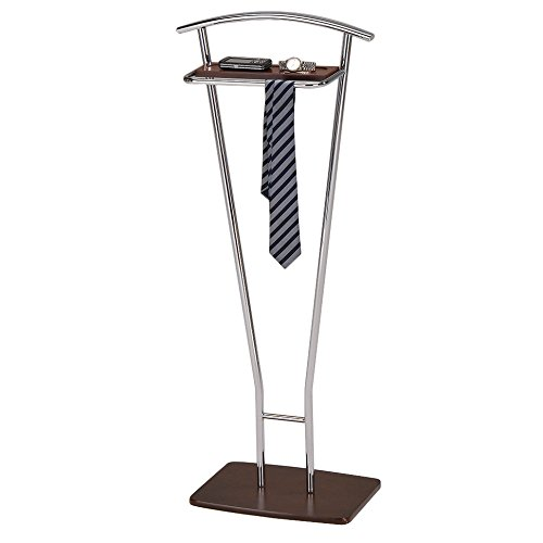 best-elegant-and-free-standing-chrome-walnut-finish-clothes-valet-stand-organizer-for-men-made-from-