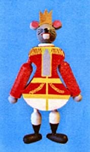 Mouse King Jumping Jack Toy / Christmas Ornament