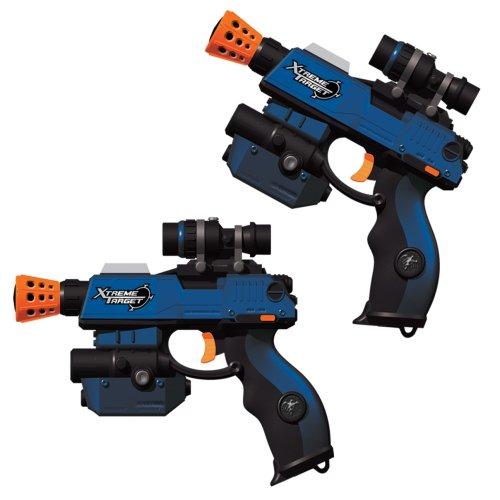 nerf laser tag guns: Jakks Pacific Toymax Laser Challenge