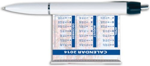 Referenda Pull-out Calendar Pen Trade Show Giveaway