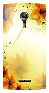 WOW Printed Designer Mobile Case Back Cover For Alcatel Flash 2
