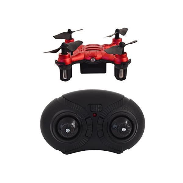 Hover-Way-6-Axis-24-GHZ-Aerial-Micro-Drone-with-Built-In-Battery-Pocket-Size-Red