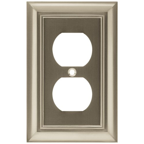 Brainerd 64234 Architectural Single Duplex Wall Plate / Switch Plate / Cover