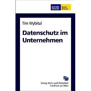 eBook Cover für  Datenschutz im Unternehmen