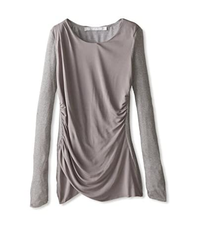 Lola & Sophie Women's Ruched Combo Top